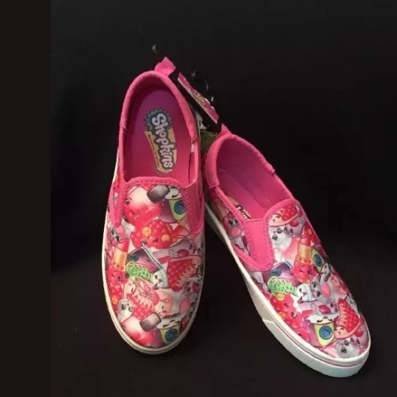 Shopkins Sneakers For Girls Pink Size 3